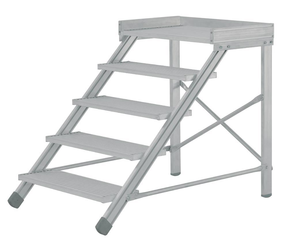 echelle a marche aluminium construction speciale. Black Bedroom Furniture Sets. Home Design Ideas